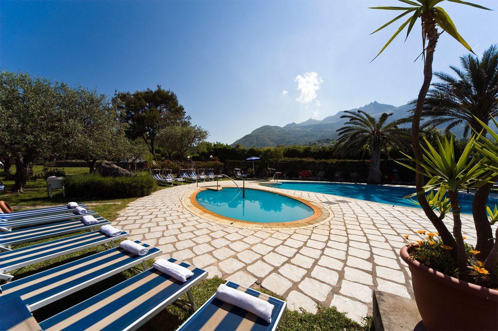 Il Solarium dell'Hotel Ideal di Ischia