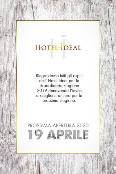 hotel ideal Ischia apertura 2020